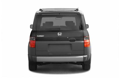 Rear Profile  2005 Honda Element