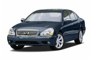3/4 Front Glamour 2005 Infiniti Q45