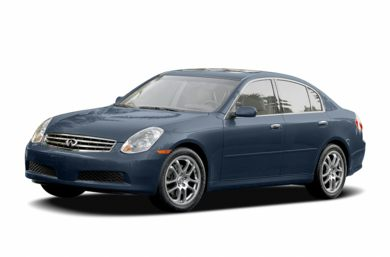 3/4 Front Glamour 2005 Infiniti G35x