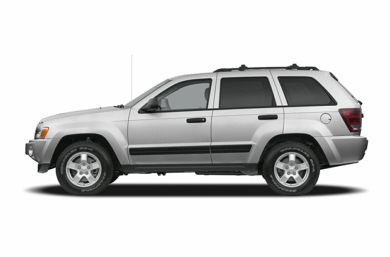 90 Degree Profile 2005 Jeep Grand Cherokee