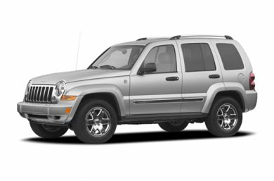 3/4 Front Glamour 2005 Jeep Liberty