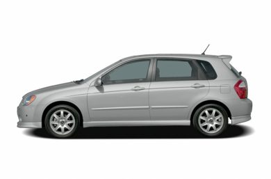 90 Degree Profile 2005 Kia Spectra5