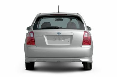 Rear Profile  2005 Kia Spectra5