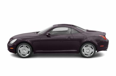90 Degree Profile 2005 Lexus SC 430