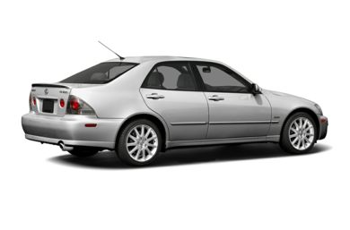 3/4 Rear Glamour  2005 Lexus IS 300