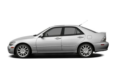 90 Degree Profile 2005 Lexus IS 300