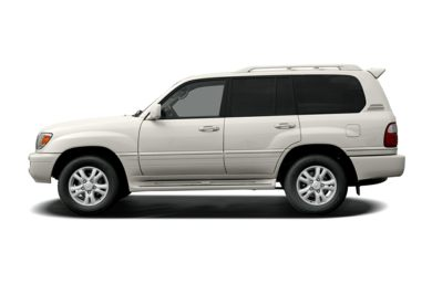 90 Degree Profile 2005 Lexus LX 470