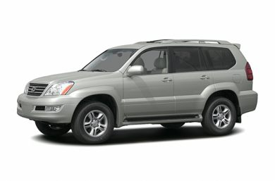 3/4 Front Glamour 2005 Lexus GX 470