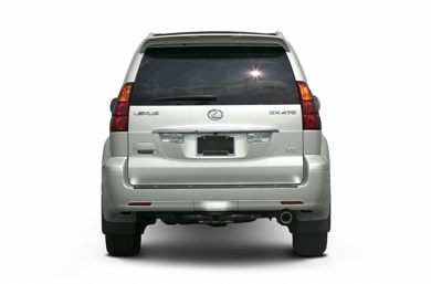 Rear Profile  2005 Lexus GX 470