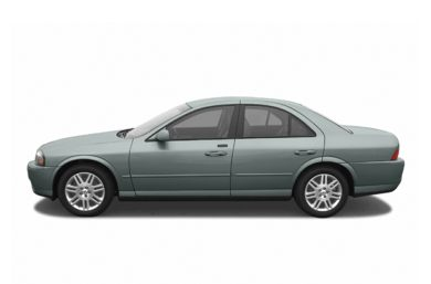 90 Degree Profile 2005 Lincoln LS