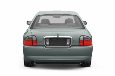 Rear Profile  2005 Lincoln LS