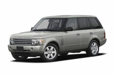 3/4 Front Glamour 2005 Land Rover Range Rover