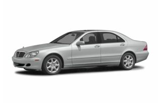 3/4 Front Glamour 2005 Mercedes-Benz S500