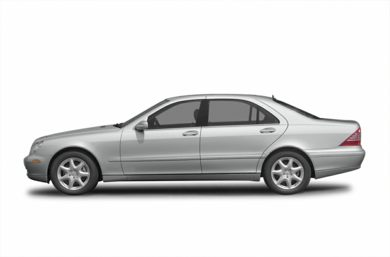90 Degree Profile 2005 Mercedes-Benz S500