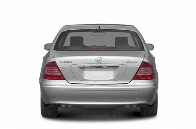 Rear Profile  2005 Mercedes-Benz S500