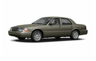 3/4 Front Glamour 2005 Mercury Grand Marquis