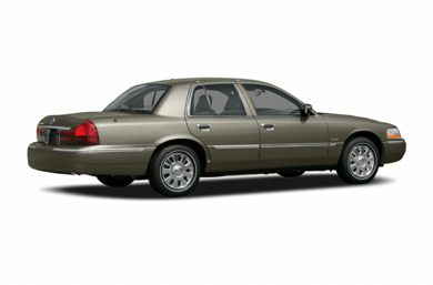 3/4 Rear Glamour  2005 Mercury Grand Marquis