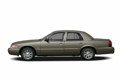 90 Degree Profile 2005 Mercury Grand Marquis