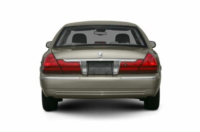 Rear Profile  2005 Mercury Grand Marquis