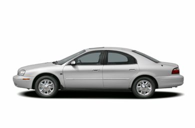 90 Degree Profile 2005 Mercury Sable