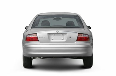 Rear Profile  2005 Mercury Sable