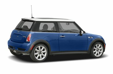 3/4 Rear Glamour  2005 MINI Hardtop