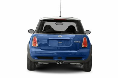 Rear Profile  2005 MINI Hardtop