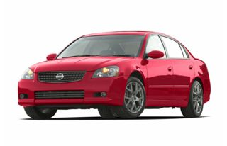 3/4 Front Glamour 2005 Nissan Altima