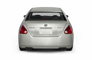 Rear Profile  2005 Nissan Maxima