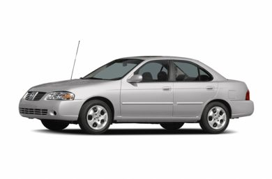 3/4 Front Glamour 2005 Nissan Sentra