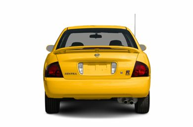 Rear Profile  2005 Nissan Sentra