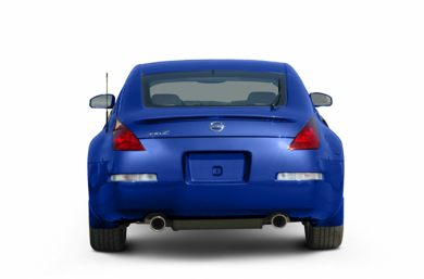 Rear Profile  2005 Nissan 350Z