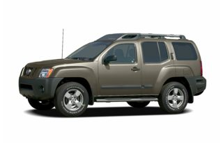 3/4 Front Glamour 2005 Nissan Xterra