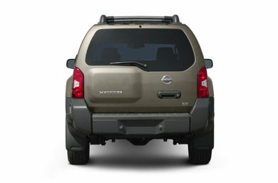 Rear Profile  2005 Nissan Xterra