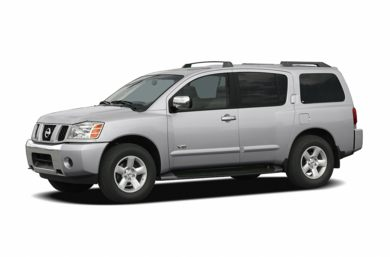 3/4 Front Glamour 2005 Nissan Armada
