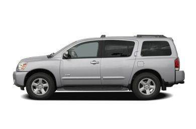 90 Degree Profile 2005 Nissan Armada