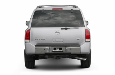 Rear Profile  2005 Nissan Armada
