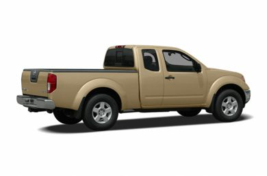 3/4 Rear Glamour  2005 Nissan Frontier