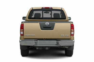 Rear Profile  2005 Nissan Frontier