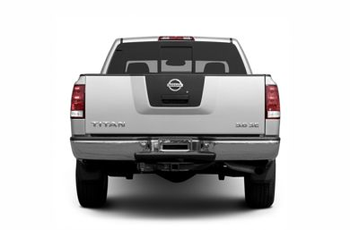 Rear Profile  2005 Nissan Titan