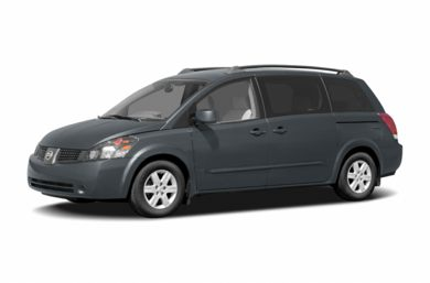 3/4 Front Glamour 2005 Nissan Quest