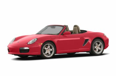 3/4 Front Glamour 2005 Porsche Boxster