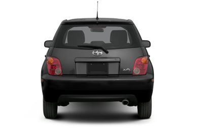 Rear Profile  2005 Scion xA