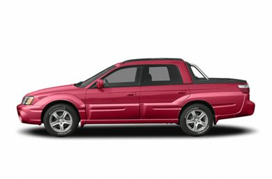 90 Degree Profile 2005 Subaru Baja
