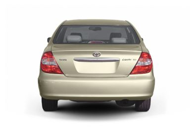 Rear Profile  2005 Toyota Camry