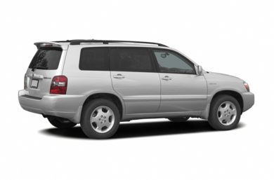 3/4 Rear Glamour  2005 Toyota Highlander