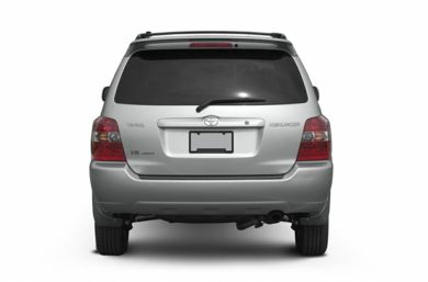 Rear Profile  2005 Toyota Highlander
