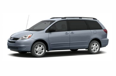 3/4 Front Glamour 2005 Toyota Sienna