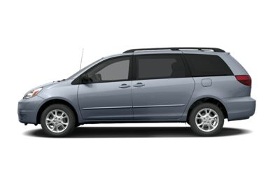 90 Degree Profile 2005 Toyota Sienna