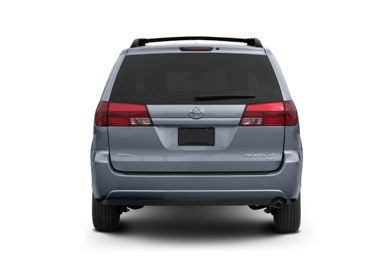 Rear Profile  2005 Toyota Sienna